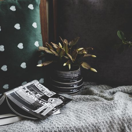 stilllife, cozy, cushion